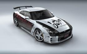 Обои sport, Nissan, GTR35
