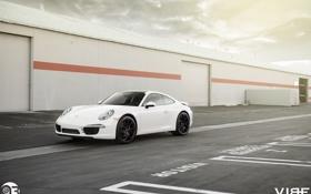 Обои 911, Porsche, оптика, перед, ZS05, Vibe, Zito