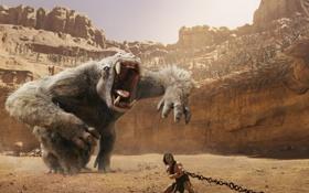 Картинка фантастика, чудовище, арена, John Carter