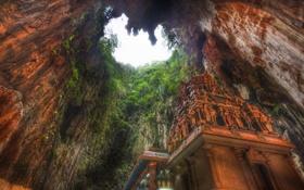 Обои пещера, Малайзия, Бату, Batu caves