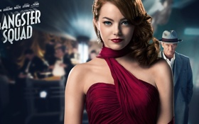 Обои девушка, фильм, girl, movie, EMMA STONE, GANGSTER SQUAD