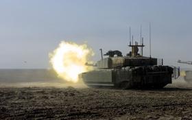 Обои оружие, танк, Challenger