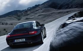 Картинка фото, Porshe, cars, auto, Carrera, wallpapers auto, обои авто