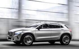 Обои walls, speed, GLA, car, Concept, auto, Mercedes-Benz