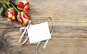 Обои розы, wood, flowers, открытка, bouquet, roses