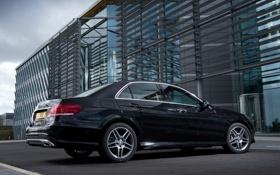 Обои Mercedes-Benz, автомобиль, седан, мерседес, AMG, BlueTec, E 350
