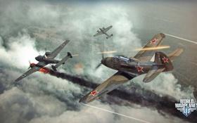Обои самолет, СССР, aviation, авиа, MMO, Wargaming.net, World of Warplanes
