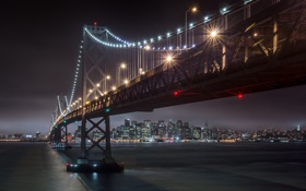 Обои Bay Bridge, architecture, San Francisco