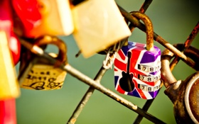 Обои фон, замок, сетка, обои, настроения, забор, гитара