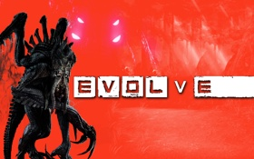 Обои Evolve, kraken, monster, Turtle Rock Studios