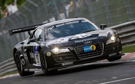 Обои Audi, ауди, Shell, LMS, наклейки, компании, ABT