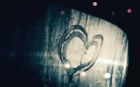 Картинка настроения, сердце, рисунок, след, mood