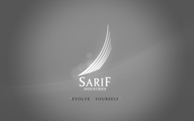 Картинка Deus Ex, Human Revolution, Sarif Industries, Сариф Индастриз, Evolve Yourself