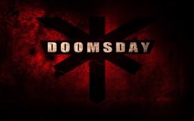 Обои надпись, doomsday, фильм, судный день