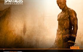 Обои Мужчины, Спартак, Гладиаторы, Боги Арены
