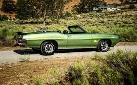 Картинка Pontiac, GTO, 1970, понтиак, Convertible, Ram Air III, The Judge
