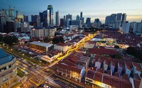 Картинка город, Singapore, China Town
