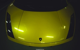 Картинка машина, авто, Lamborghini, капот, фотограф, auto, photography