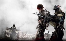 Обои солдат, homefront, обои, оружие