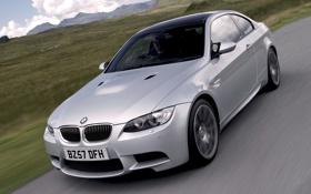 Обои Авто, Дорога, BMW, Машина, Бумер, Серый, Асфальт