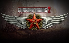 Обои Russia, Wallpaper, Game, Company of Heroes 2, WW2, RTS, Strategy
