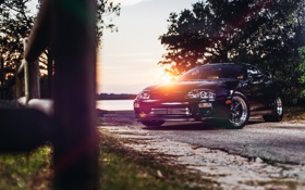 Картинка солнце, Toyota, диски, Supra, Charles Siritho