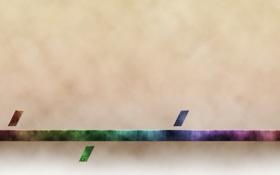 Обои синий, красный, зеленый, полоса, RGB