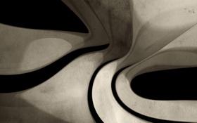 Обои фон, линии, серый, текстура, глубина