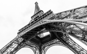 Обои конструкция, эйфелева башня, Франция, Париж