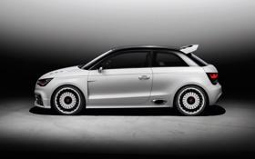Картинка Audi, Ауди, Белый, Колеса, Машина, Купэ, Вид сбоку