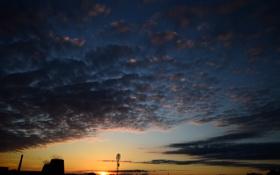 Картинка небо, закат, Калуга, Kaluga