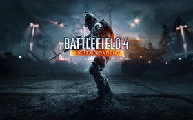 Обои Battlefield 4, Экипировка, Battlefield 4: Night Operations, Night Operations, Frostbite 3, Свет, DLC