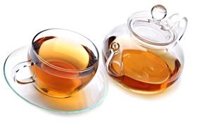 Картинка чашка, чай, заварник, напиток, блюдце