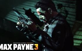 Обои пистолеты, игра, Max Payne 3, Rockstar Games