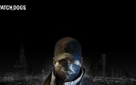 Обои город, мужчина, кепка, Ubisoft, 2013, Watch Dogs, Ubisoft Montreal