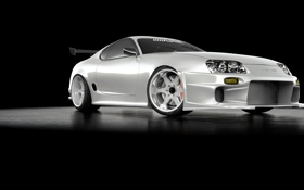 Картинка White, Supra, turbo