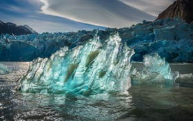 Обои природа, лёд, море