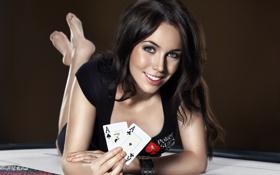 Картинка карты, покер, stars, poker, liv boeree