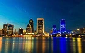 Обои Jacksonville, город, Джэксонвилл, сша, Флорида