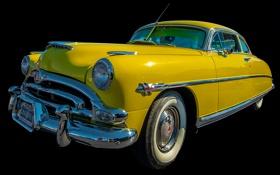 Обои ретро, купе, автомобиль, Hornet, Hudson