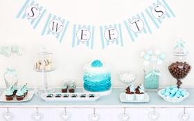 Обои сладость, печенье, конфеты, торт, выпечка, кексы