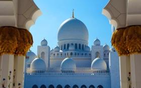 Обои Abu Dhabi, Sheikh Zayed Grand Mosque, Vereinigte Arabische Emirate, Thomae, Emirates, Grand Mosque, United Arab ...