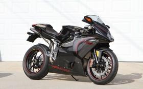 Картинка чёрный, тень, мотоцикл, black, bike, MV Agusta, мв агуста