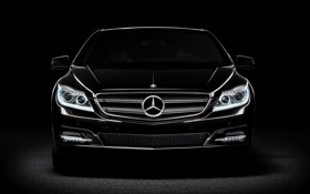 Картинка mercedes, black, cars, auto wallpapers