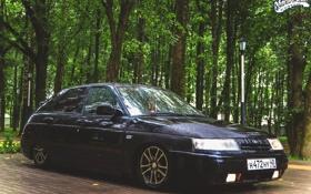 Картинка машина, авто, диски, Lada, auto, 2112, ВАЗ