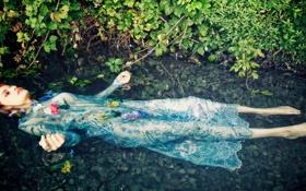 Картинка вода, девушка, ситуация, Dalila