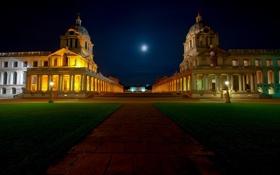 Картинка Англия, Лондон, Великобритания, London, England, United Kingdom, observatory