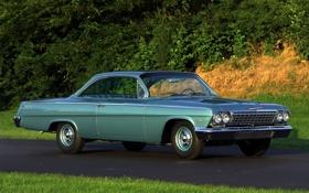 Обои фон, Chevrolet, Шевроле, классика, Bel Air, Coupe, передок