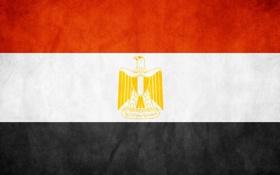 Обои флаг, триколор, египет