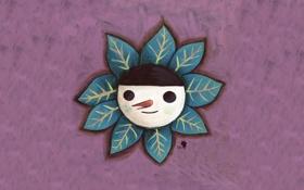 Обои цветок, чудик, Kim Hana
